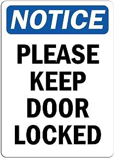 Best fire door keep locked sign Reviews