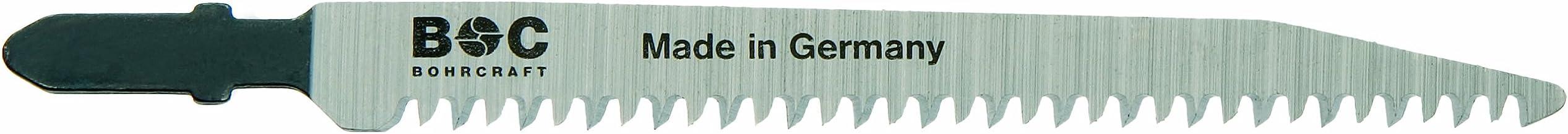 Bohrcraft–Sierra de calar (HSS, dientes de 3Compartimento diagonalmente, ZT 2,5x 91mm de longitud en 5unidades de tarjeta, 1pieza, 19631600001