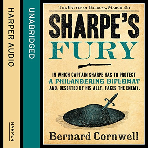 Couverture de Sharpe's Fury: The Battle of Barrosa, March 1811