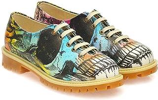 Oxford Blucher Shoes Y Zapatos Planos Uk Amazon esGoby vbf6Ygy7