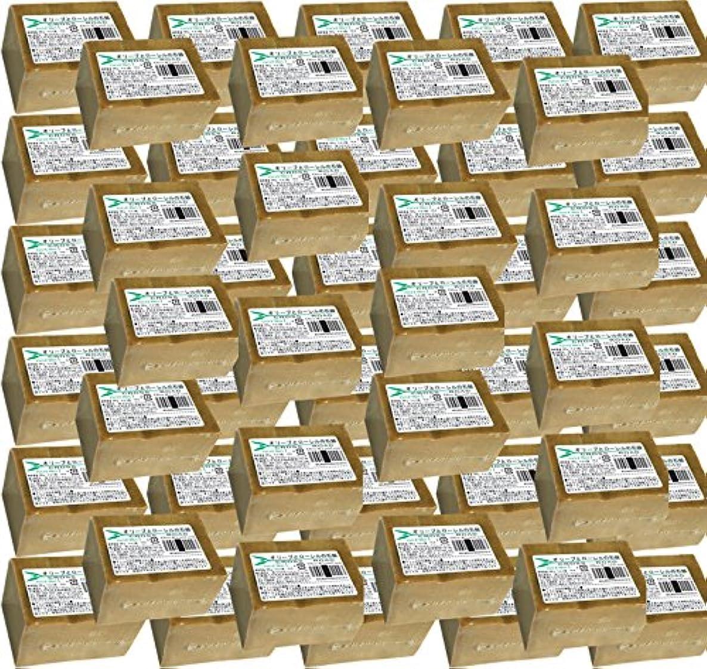 鰐誕生日でるオリーブとローレルの石鹸(ノーマル)50個セット [並行輸入品]