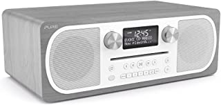 Pure Evoke C-D6 All-in-One Music System with DAB/DAB+/FM Digital Radio – DAB Radio with Bluetooth Music Streaming, Dual Al...
