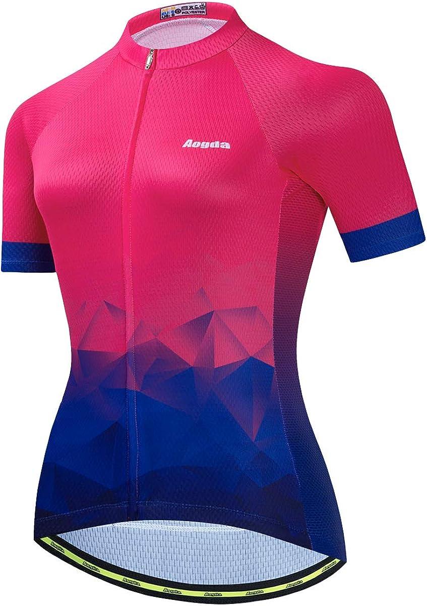 Our shop most popular Max 47% OFF Aogda Cycling Jerseys for Women Bike Biking Team Bic Shirts Tops