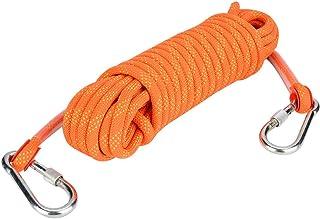 BOLORAMO Corde de Survie, Corde d'escalade en Plein air, équipement d'escalade Facile avec Crochet de sécurité pour Corde ...