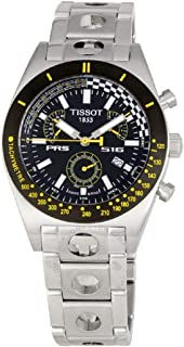 Tissot Men's T91148851 T-Sport PRS 516 Stainless Steel Black Retrograde Chronograph Watch
