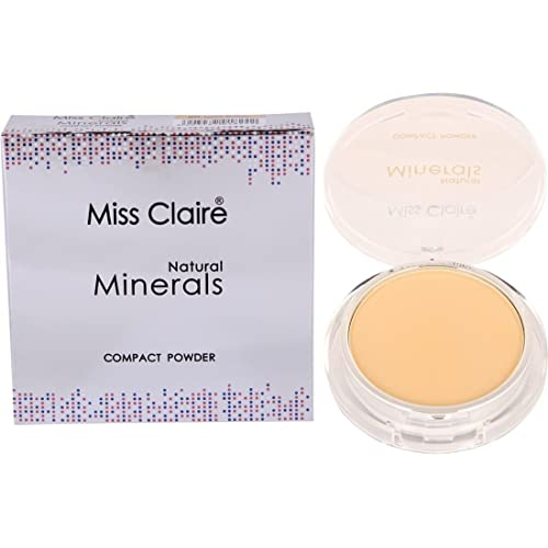 Miss Claire Natural Mineral Compact Powder (Beige, 7 g)