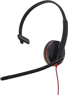 Plantronics Blackwire C3215 Headset - Mono - Black - USB Type A, Mini-phone - Wired - 20 Hz - 20 kHz - Over-the-head - Mon...