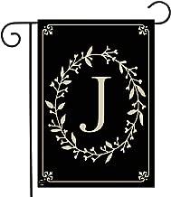 Briarwood Lane Classic Monogram Letter J Garden Flag Everyday 12.5