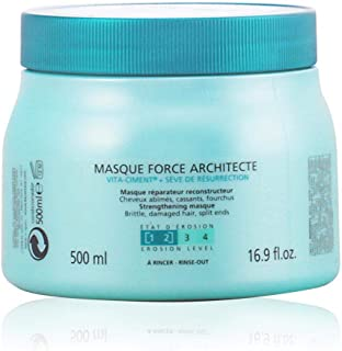 Kerastase Resistance Masque Force Architecte by Kerastase for Unisex - 16.9 oz Masque, 500 ml