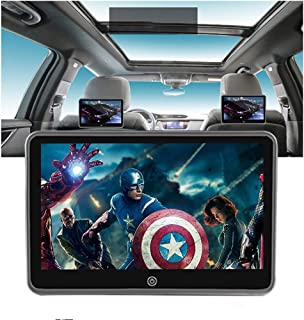 DWAC Car Headrest Video Player, 1024X600 IPS Touch Screen, Car Back Seat Tablet, Support WiFi/Bluetooth/HDMI Input&Output/...