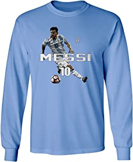 Lionel Messi Argentina AIR Soccer Men's Long Sleeve T-Shirt