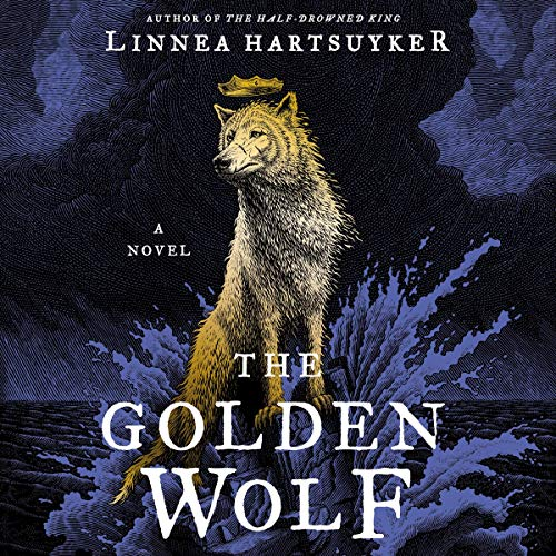 The Golden Wolf audiobook cover art