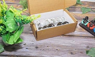 SHIRANYA Assorted Vintage Golden Multi Color & Multi Designed Ceramic Cupboard Cabinet Door Knobs Drawer Pulls & Chrome Ha...