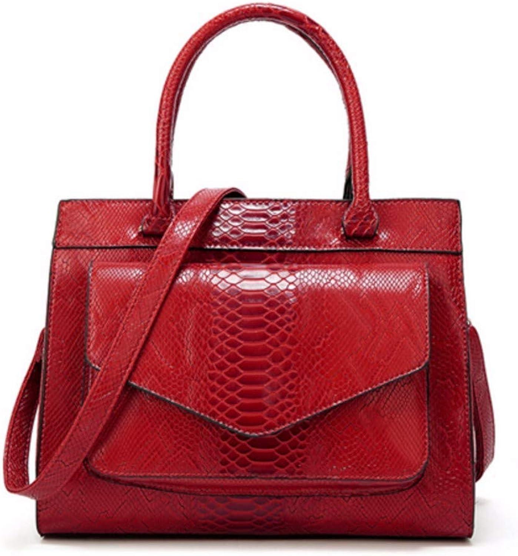 JQSM Alligator Pu Leather Women Shoulder Handbag Larger Capacity Women Messenger Bag