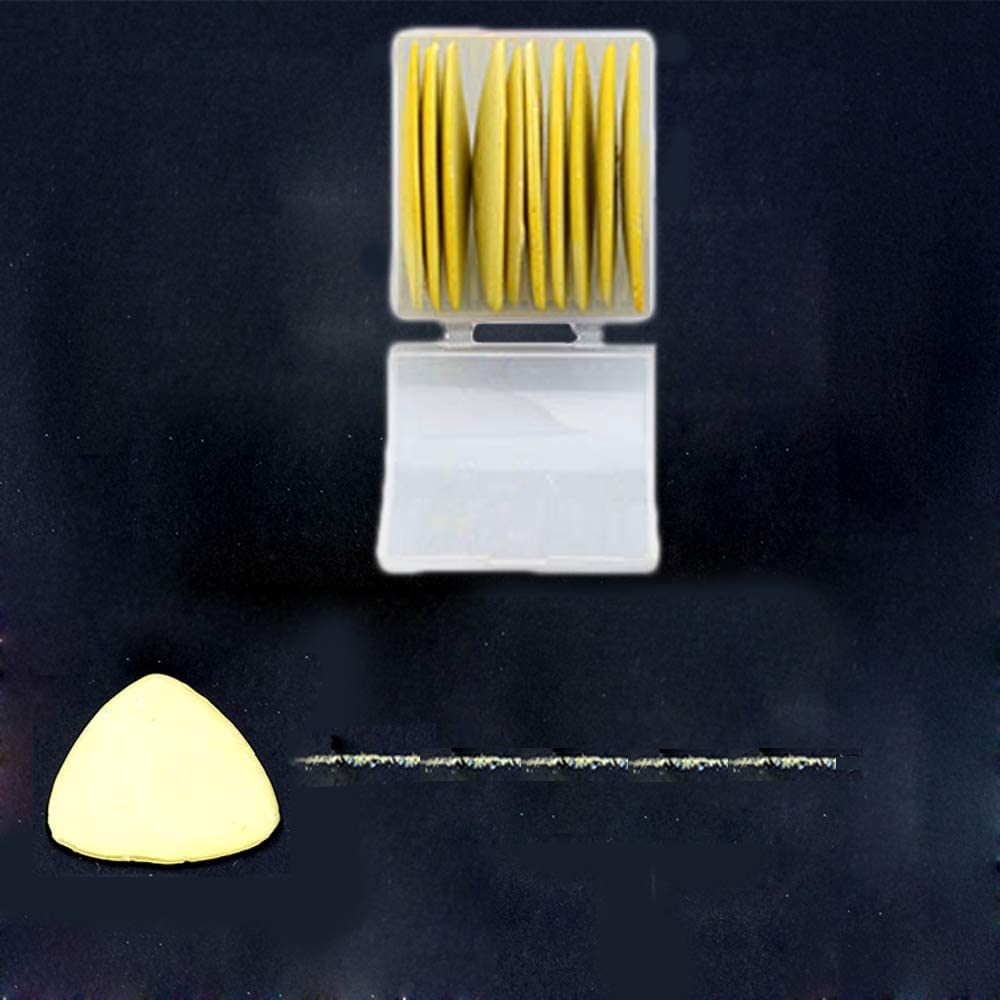 Sewing Notions /& Accessories Professional Tailors Chalk Triangle Tailors Fabric Marker Chalk