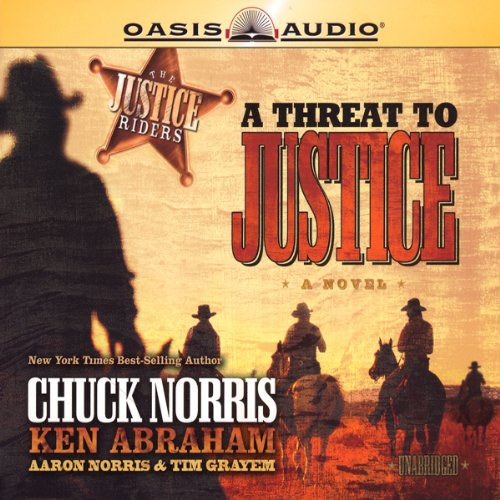 A Threat to Justice audiobook cover art