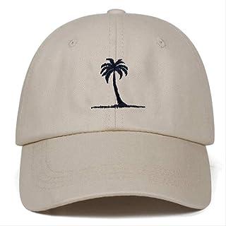 Coconut Tree Embroidery Summer Hip-hop Fashion Baseball Cap Men And Women Adjustable Baseball Cap