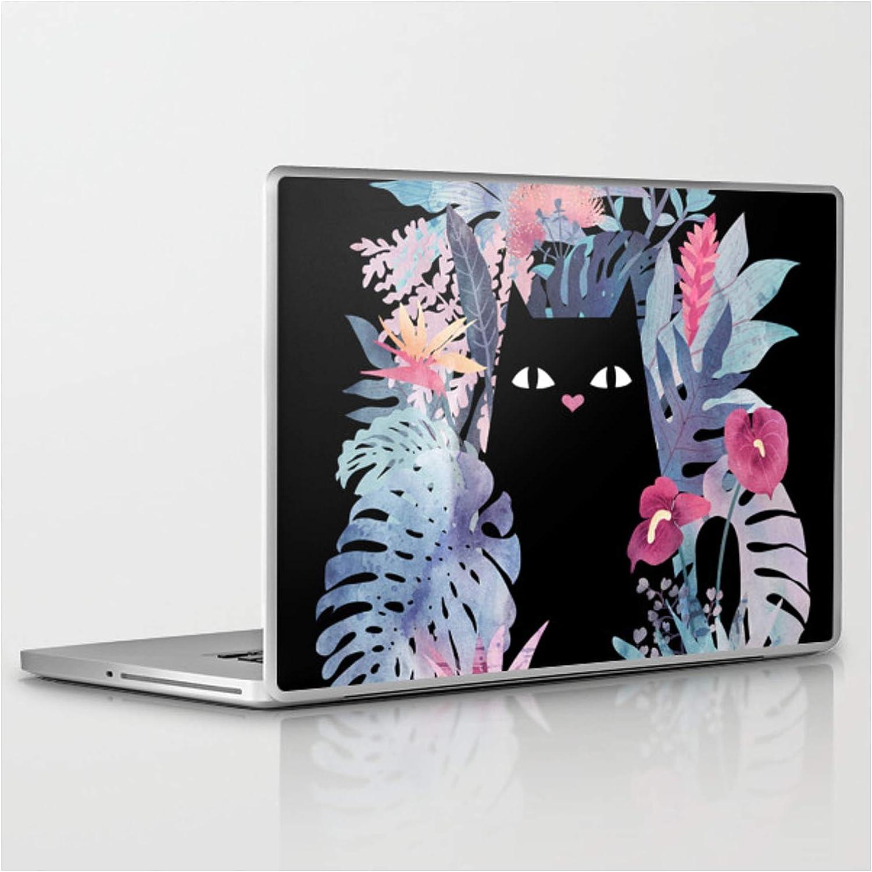 Discount mail order Popoki Pastel Black Velvet by Littleclyde Laptop shipfree Tablet on Ski