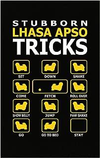 AttireOutfit Stubborn Lhasa Apso Dog Tricks Funny - Poster