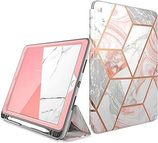 """جراب i-Blason Cosmo لجهاز iPad Air 3 10. 5"""" 2019 (الجيل الثالث) / iPad Pro 10. 5 2017، [واقي شاشة مدمج] غطاء جراب حامل ثلا..."""