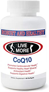 Pure CoQ10 Coenzyme Ubiquinone Supplement Pills Extra Antioxidant Coenzima Q10 Vitamin Softgels Robust and Healthy Coq 10 for BP Heart CQ10 100mg Made in USA GMP Certified
