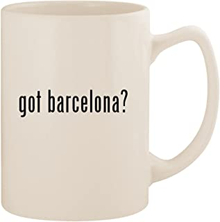 got barcelona? - White 14oz Ceramic Statesman Coffee Mug Cup