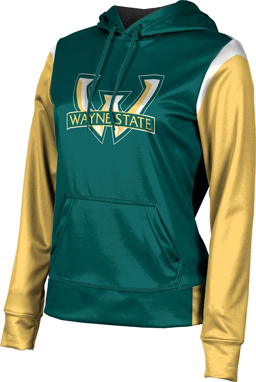 ProSphere Wayne State University Girls' Pullover Hoodie, School Spirit Sweatshirt (Tailgate)