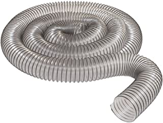 """2 1/2"""" x 10` CLEAR PVC DUST COLLECTION HOSE BY PEACHTREE WOODWORKING PW367"""