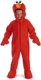 Sesame Street Elmo Deluxe Plush - Size: 3T-4T Red