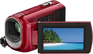 Sony DCR-SX41 Flash Camcorder w/60x Optical Zoom (Red)