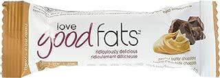 LOVE GOOD FATS Bar Peanut Butter Chocolate 12Ct, 39 GR