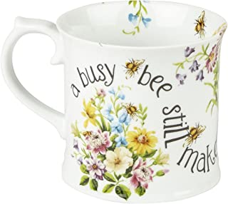 "Katie Alice ""english Garden"" Busy Bee Mug By Creative Tops, 350ml (12 Fl Oz)"