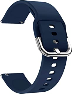 Watch Bands-Width 20mm,22mm-Quick Release & Choose Color-Soft Silicone Replacement Watch Straps