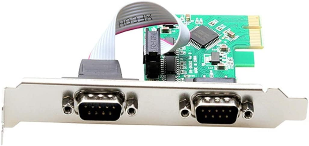 YXZQ Popularity Computer Add-on Card Our shop OFFers the best service 2 Port RS-232 to COM DB9 RS232 Serial