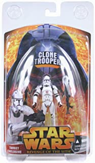 Star Wars Target Exclusive Clone Trooper Figure Revenge of t