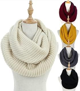 chunky cream scarf