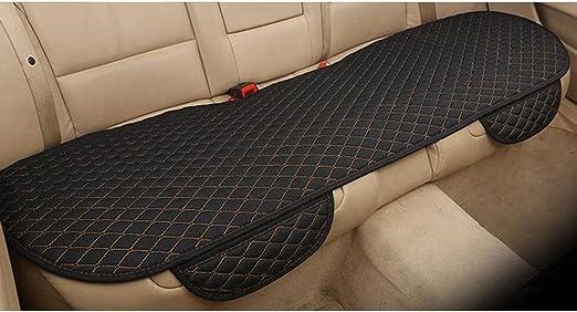 Bigfamily Autositzkissen Seat Protector Cushion Anti Skid Atmungsaktives Sitzkissen Rücksitzbezug Für Auto Schwarz Gold Auto