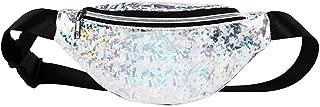 YWSCXMY-AU Waist Bag Female Belt Waterproof Chest Handbag Unisex Fanny Pack Ladies Waist Pack (Color : Silver)
