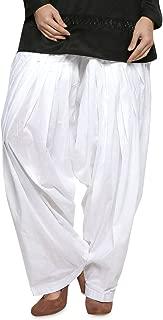Plain Patiala Salwar Pants-100% Cotton-in Many Colours- Kameez Kurti Tunic Yoga