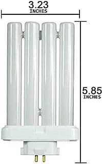 Full Spectrum 27 Watt 4 Pin Quad Fluorescent Natural Daylight Replacement Bulb FML27W/65