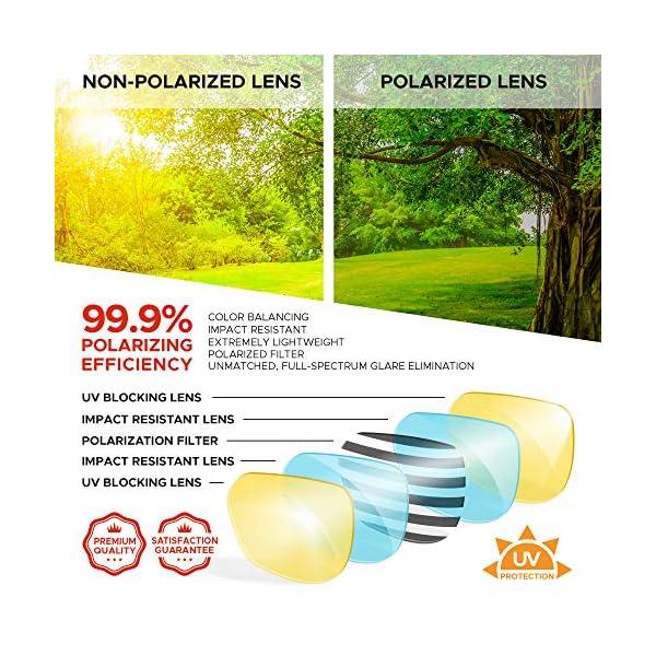 WearMe Pro – Polarized Round Vintage Retro Mirrored Lens Women Metal Frame Sunglasses
