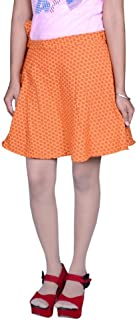 Beautiful Cotton Printed Orange Round Rap from The House of Pezzava