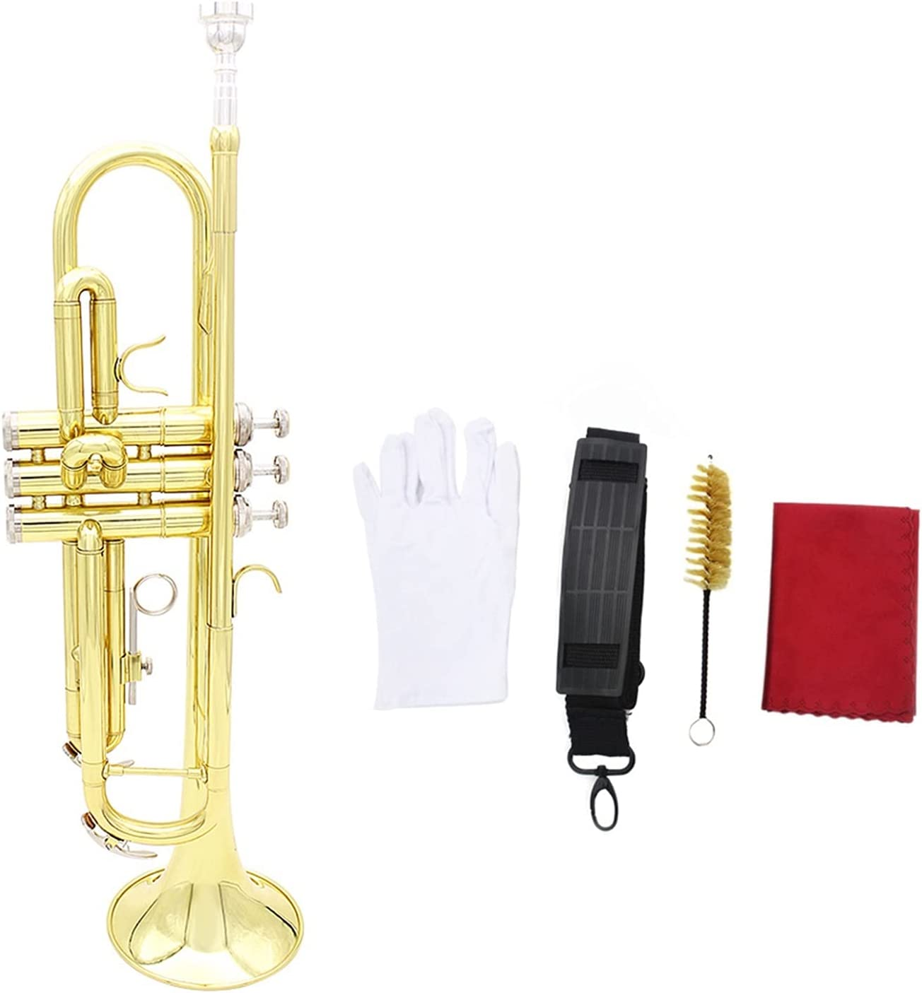 Standard ! Super beauty product restock quality top! Sacramento Mall Trumpets Trumpet Bb B Silver-Plated Flat Exquisit Brass