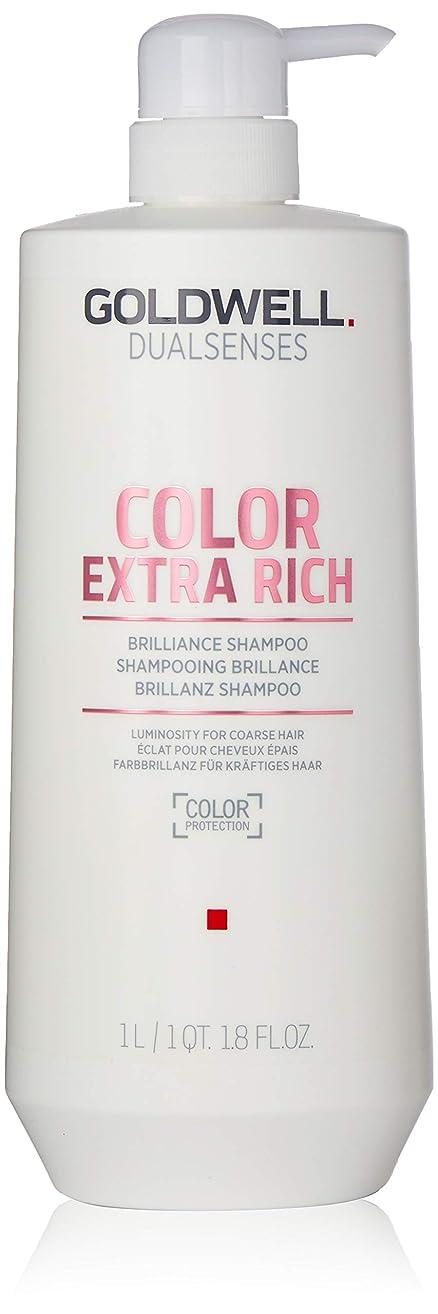 ジェスチャー予測子改修ゴールドウェル Dual Senses Color Extra Rich Brilliance Shampoo (Luminosity For Coarse Hair) 1000ml