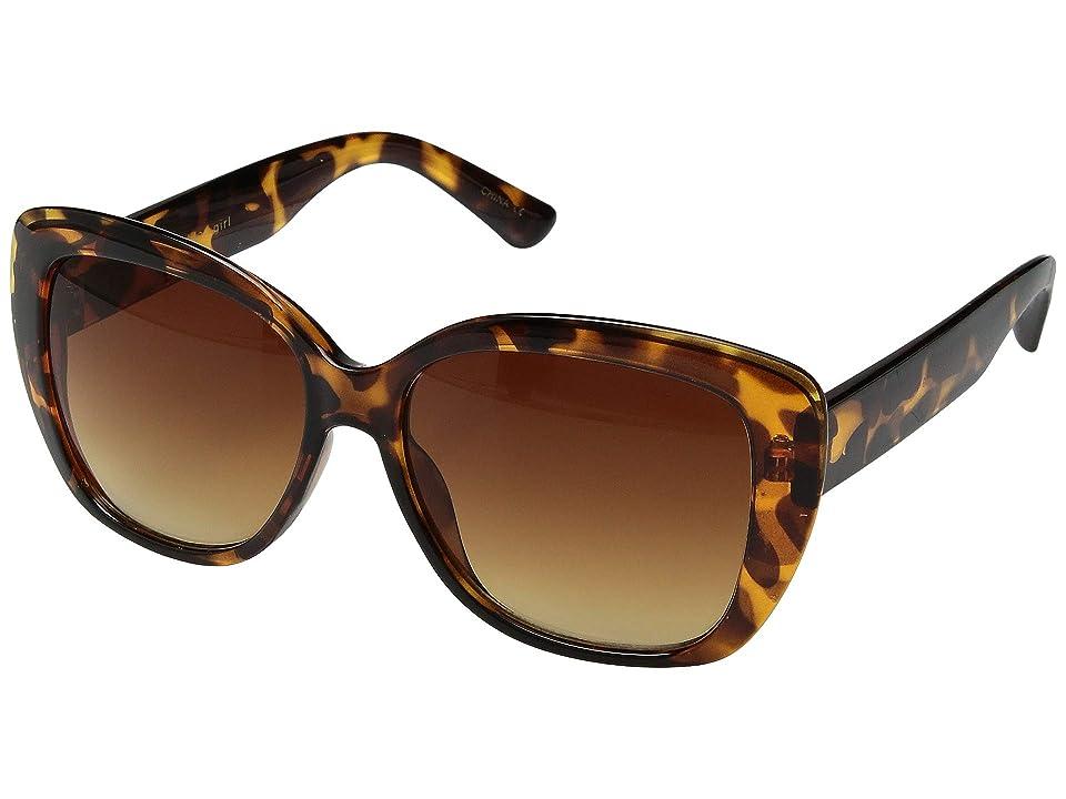 Steve Madden Madden Girl MG895109 (Tortoise) Fashion Sunglasses