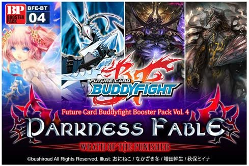 Future Card BuddyFight BFE-BT04 Darkness 全国一律送料無料 P Booster 30 BOX Fable 正規品スーパーSALE×店内全品キャンペーン