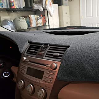 Dashboard Cover Dash Cover Mat Pad Custom Fit for Toyota Camry 2007 2008 2009 2010 2011 (Gray) Y27
