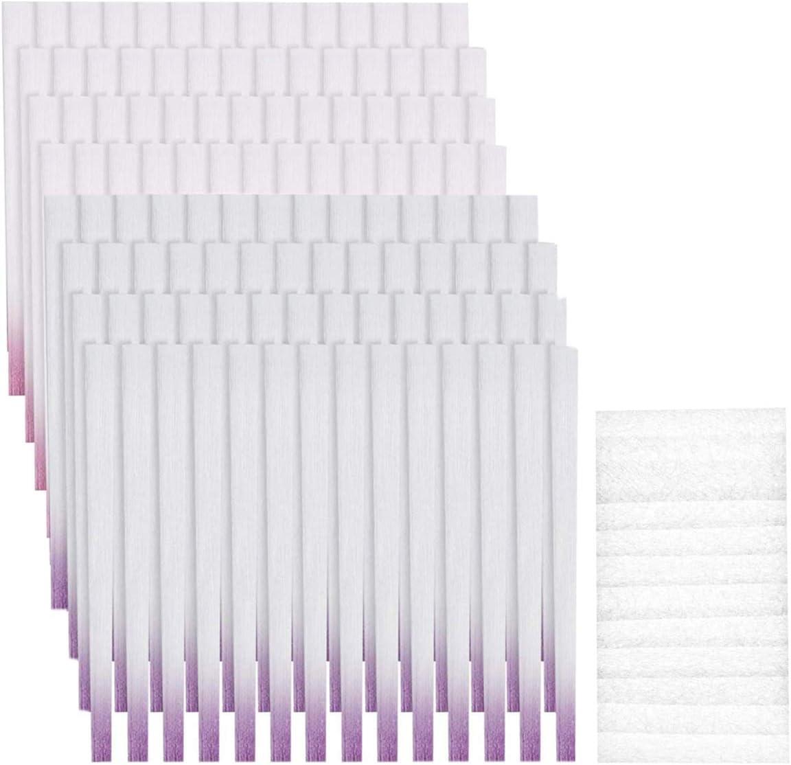 Dancepandas Extensión de Uñas de Fibra de Vidrio 250PCS Fiberglass Nails Kit Nails Extensions, Herramientas de Manicura para Salones e Bricolaje en Casa