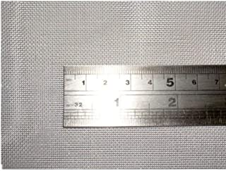 TIMESETL 304 Stainless Steel Woven Wire 30 Mesh - 12