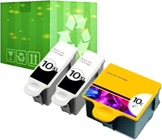 J2INK 3 Pack 10 XL Ink Cartridges for Kodak ESP 5210 7250 3250 5250 9 5 7 9250 Printer